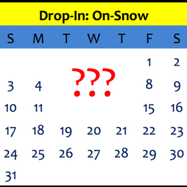 Drop-In: On-Snow Training Winter 2018