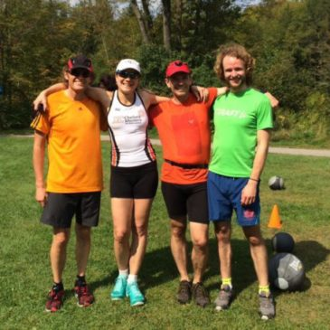A Stairathon to support a XC ski team at Ottawa U (starring our very own coach – Zeke!!)