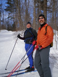 XC Chelsea Master Sara and Chris Holloway in Gatineau Park